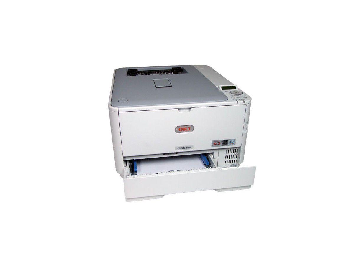 Farblaserdrucker: Oki C321dn mit LED-Technik im Test - computerwoche.de