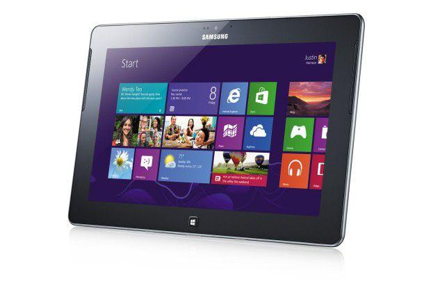 Nur wenige Hersteller trauen sich bisher an die ARM-Version von Windows 8: Samsung bringt das ATIV Tab mit Win 8 RT