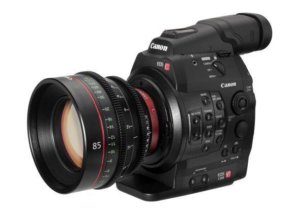 Canon Cinema EOS C300: 8,3 Megapixel, Wechsel-Objektive und 4-Zoll-Display