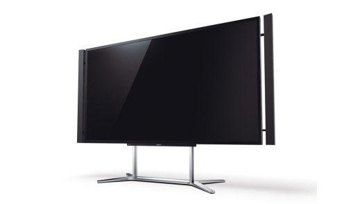 Der Bravia KD-84X9005 von Sony besitzt eine über zwei Meter große Bildschirmdiagonale.