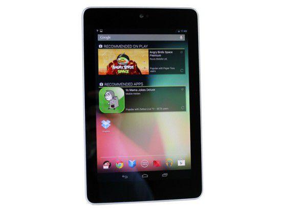 Preisgünstige kleine Tablets wie das Google Nexus 7 machen den iPads Konkurrenz.
