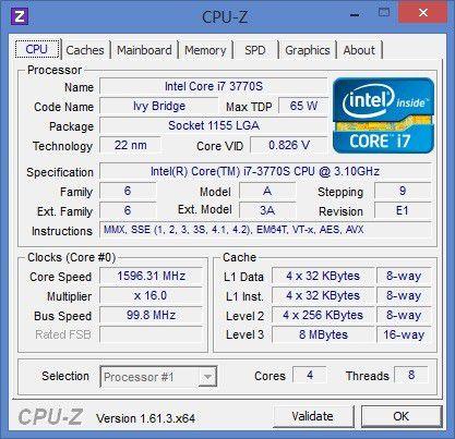 Die CPU ist ziemlich rechenstark.