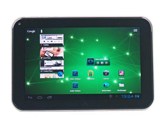 Neues Sommer-Tablet? Bereits im vergangenen Jahr hatte Toshiba auf der IFA den 7-Zöller AT270 vorgestellt.