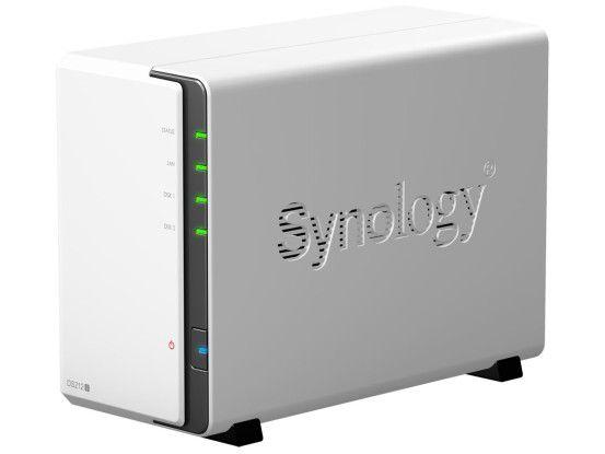 Die Hersteller Qnap und Synology (im Bild) bieten eine große Auswahl an NAS-Laufwerken mit zwei oder mehr Datenträgern.