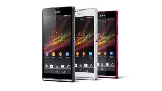 Sony enthüllt das Xperia SP und das Xperia L.
