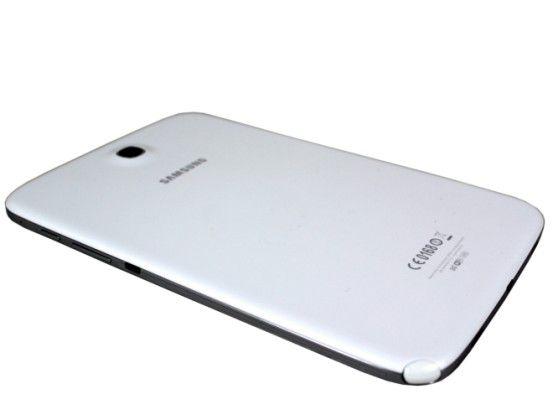 Alles Plastik: Auch beim Note 8.0 verzichtet Samsung auf ein Metall-Gehäuse