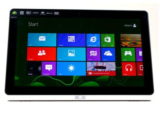 Tablet mit vollwertigem Windows 8