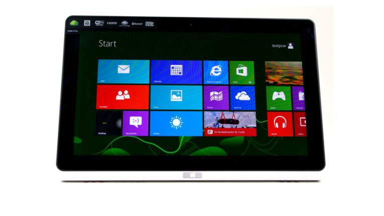 Tablet mit vollwertigem Windows 8