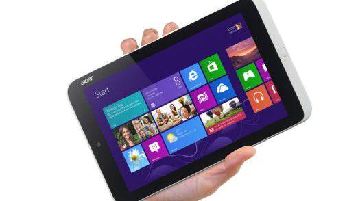 """Office 2013 gibt es bei """"kleinen"""" Windows 8 Tablets gratis dazu."""