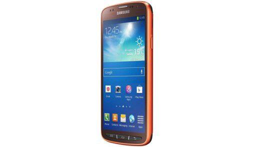 Samsung macht sein Galaxy S4 wasserdicht.