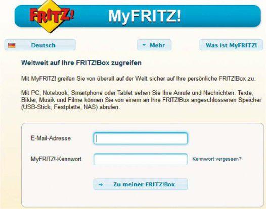Die Einrichtung ist einfach, die Handhabung weniger komfortabel: Wer nur ab und zu über das Internet auf Daten daheim zugreifen muss, der ist mit My Fritz dennoch gut bedient.