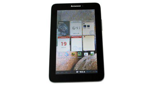 Das Lenovo Ideapad A2107A bringt ein 3G-Modul mit - selten in der 300-Euro-Klasse