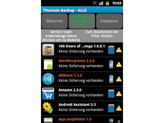 Mit Root-Rechten ist ein Backup Ihres Android-Systems einfach und schnell erstellt.