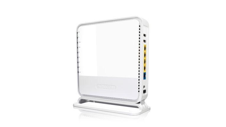 11ac-Router mit USB 3.0: Sitecom WLR-8100