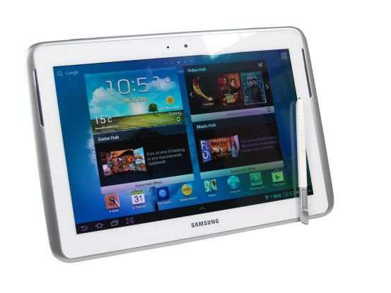 Bestes großes Android-Tablet: Samsung Galaxy Note 10.1