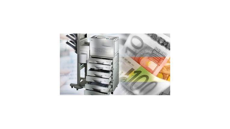 Es gibt zahlreiche Möglichkeiten, Druckkosten zu senken.