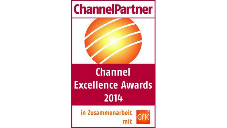 """Die Auszeichnung """"Channel Excellence Award"""" wurde 2014 in 27 Kategorien vergeben."""