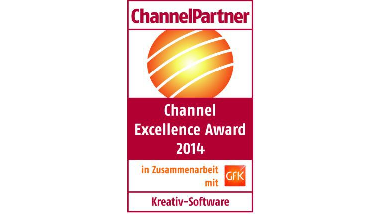 Channel Excellence Award 2014: Kreativ-Software
