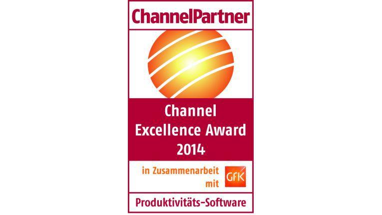 Channel Excellence Award 2014: Produktivitätssoftware