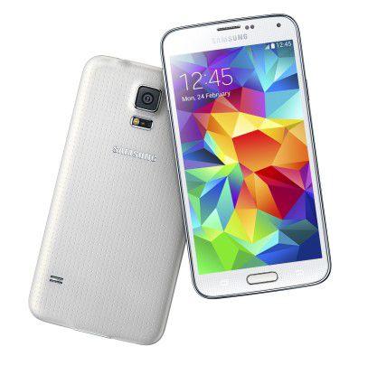 Samsung Galaxy S5: Das Android-Gerät will mit 5,1-Zoll-Bildschirm, Fingerprint-Sensor, Schrittzähler, Pulsmesser sowie Staub- und Wasserschutz punkten.