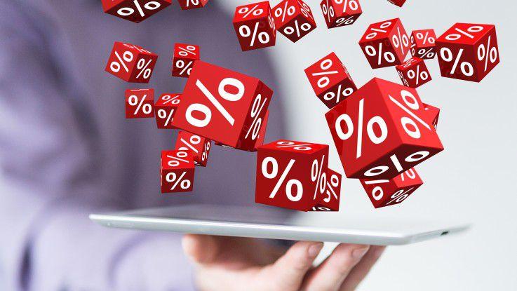 Eine Werbung mit herabgesetzten Preisen kann rechtlich gesehen irreführend sein.