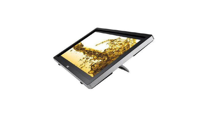 AOC A2472PW4T: Mit einem größeren Neigewinkel arbeitet das Gerät fast wie ein Tablet.
