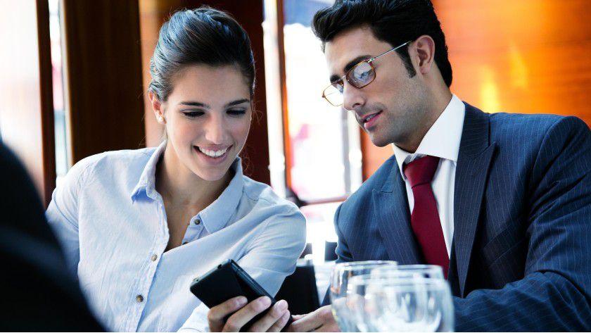 Viele mobile Arbeiter legen Wert darauf, auch private Daten auf ihrem Device speichern zu können.