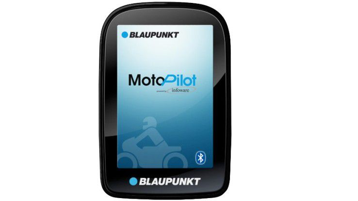 Blaupunkt Motopilot: Auch Straßenkreuzungen können als Zielpunkte dienen.
