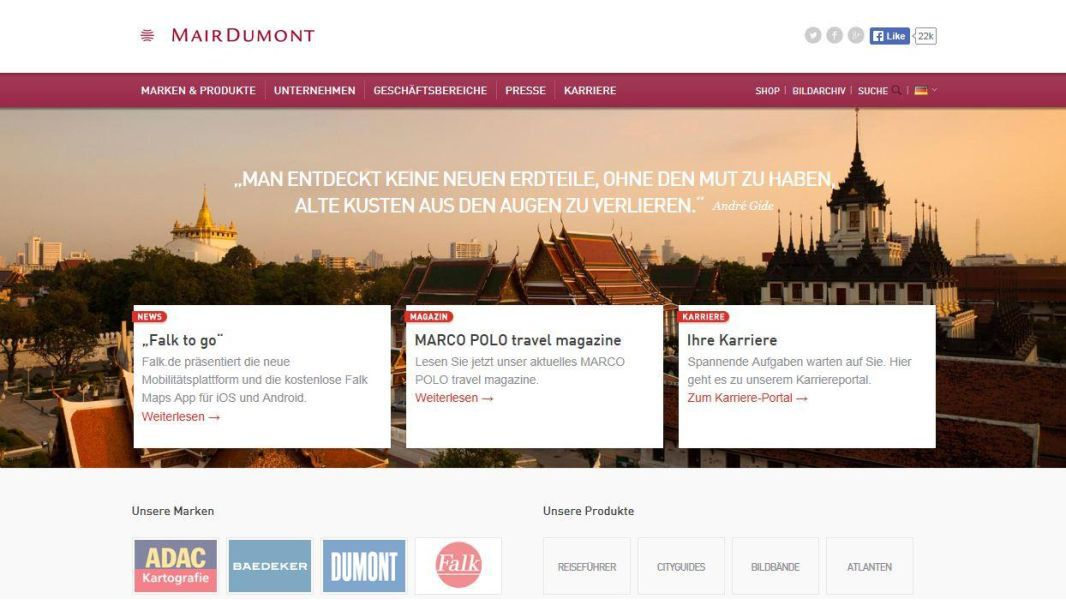Best in eCommerce - CornuCopia und MairDumont