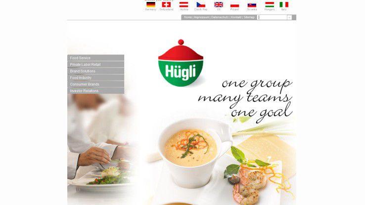 Die Hügli-Gruppe ist in neun europäischen Ländern vertreten.
