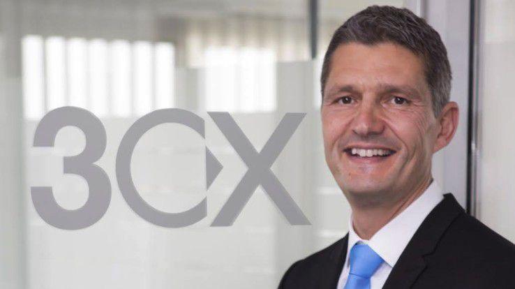 3CX-CEO Nick Galea: will Channel Zusatzgeschäft ermöglichen.