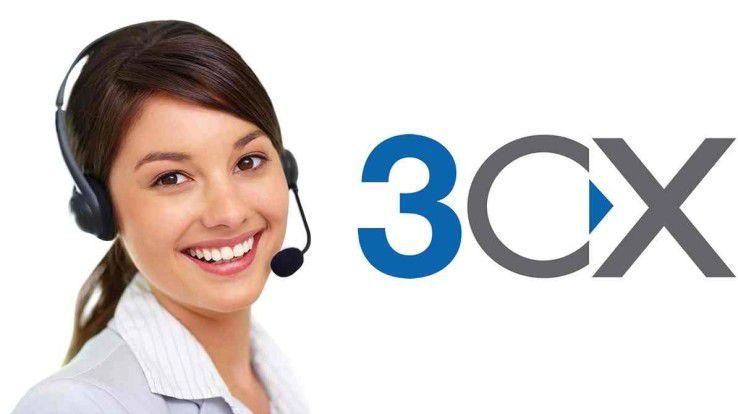 3CX Phone System: wird mit bis zu 50 Instanzen bei 3CX Cloud Server eingebunden.