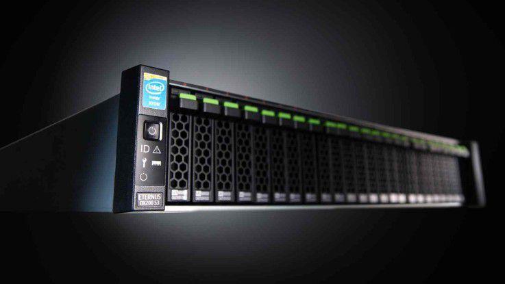 Fujitsu Eternus DX200: All-Flash-Version soll an Anschaffungs-, Betriebs- und Migrationskosten deutlich einsparen helfen.