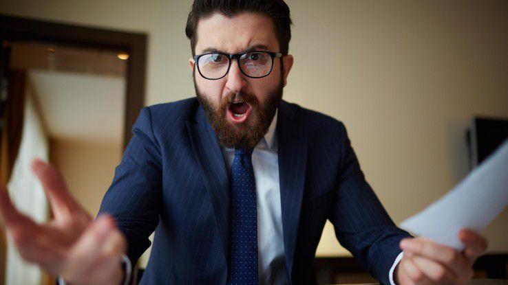 Einige Chefs schreien ihre Mitarbeiter an. Mit Respekt hat das nichts zu tun.