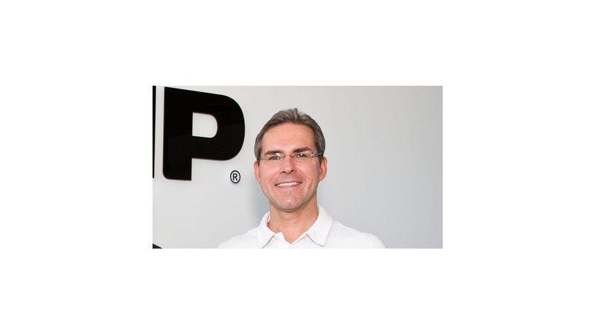 Jan-Michael Sieg, Vorstandsvorsitzender der KMP PrintTechnik AG, muss sich mit einer von Canon angestrebten Patentklage auseinandersetzen.
