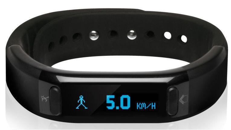 Das Bluetooth-Armband, vom Hersteller auf den unmerkbaren Namen Qairós getauft, kann unter anderem Schritte zählen, Anrufe und Kalorienverbrauch oder etwa die Schlafphasen anzeigen.
