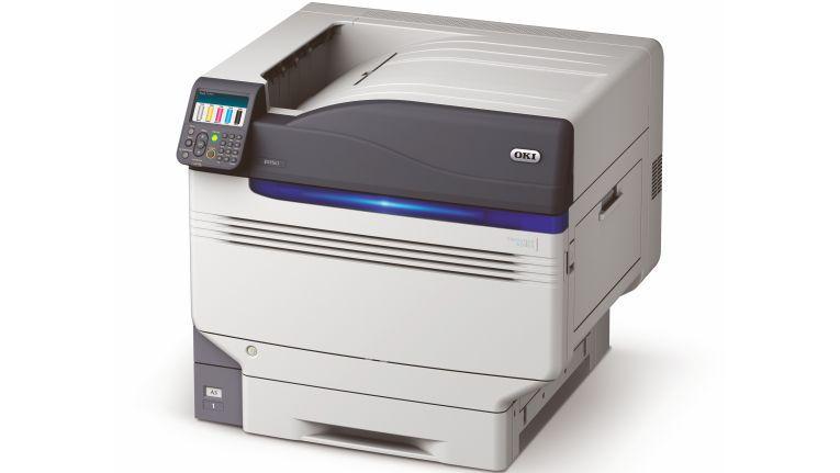 Bis zu 2.523 Euro gegenüber dem Einzelkauf kann man beim Fünffarbdrucker Oki ES9541dn sparen.