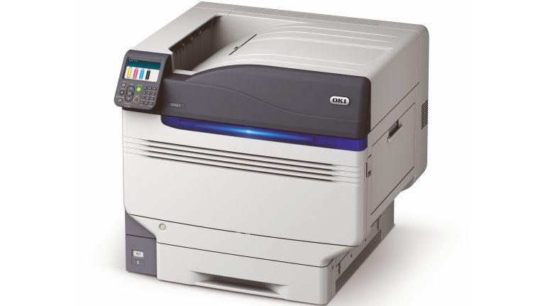 Auch für den A3-Farbdrucker Oki C931dn gibt es für drei Euro Aufpreis jede Menge Zubehör im Wert von bis zu 1.576 Euro.