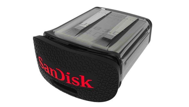 Sandisk CZ43: Zehnfaches Schreibtempo gegenüber USB-2.0-Version.