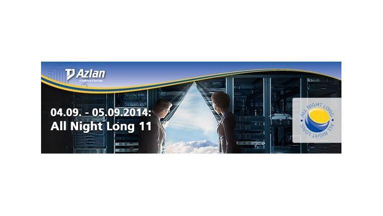 Bereits zum elften Mal lädt TD Azlan zur 24stündigen All Night Long ein.