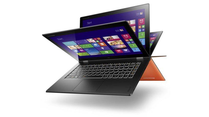Lenovo ist unter anderem mit seinen hybriden Notebooks sehr erfolgreich.