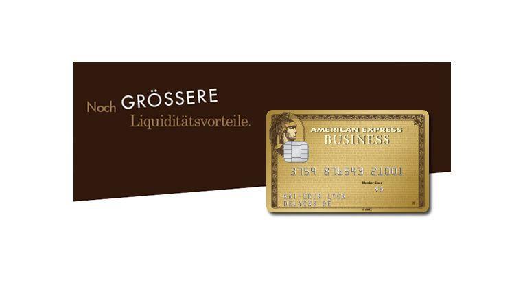 Mit der goldenen Businesskarte von American Express, Ricoh Produkten und dem Distributor Bluechip lässt sich das Zahlungsziel sogar um bis zu 50 Tage verlängern.