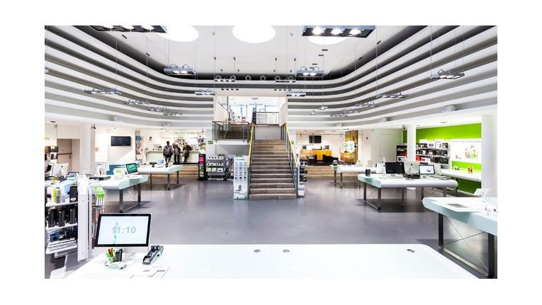 Gravis hat sein Shop-Layout in den letzten Jahren überarbeitet. Hier der Store in Düsseldorf.