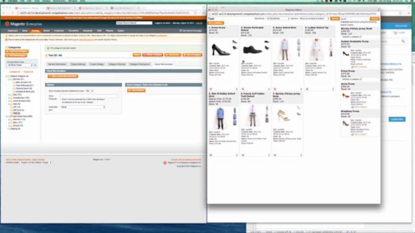 Magento gehört zu den modernsten, flexibelsten und umfangreichsten Shop-Systemen am Markt - hier die Enterprise Edition 1.14.1