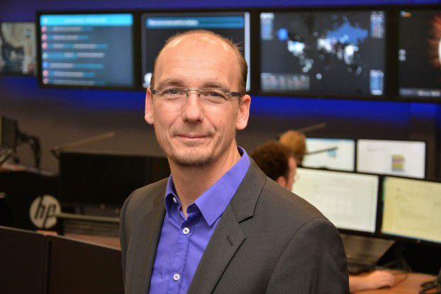 Claudio Wolff, Leiter des Cyberabwehrzentrums von HP in Böblingen.