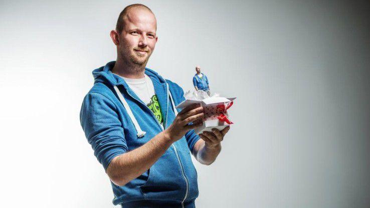 My3D-Figur mit Vorlage - bis zur Fertigstellung können allerdings 3 - 4 Wochen vergehen.
