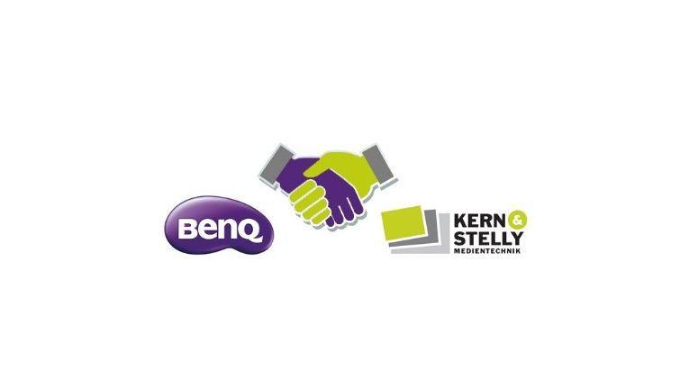 BenQ und Kern & Stelly machen seit Januar 2015 beim Vertrieb von Präsentations- und Medientechnik gemeinsame Sache.