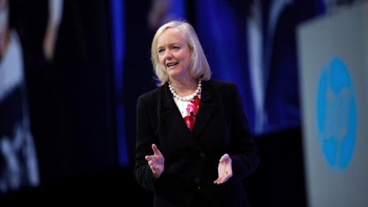Meg Whitman auf der Hewlett-Packard Global Partner Conference 2015.
