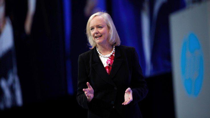 """""""Keine Pläne zur Aufspaltung"""" ... vermeldete HP-CEO Meg Whitman noch 2013"""