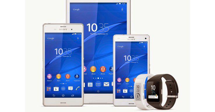 Die Sony-Xperia-Familie